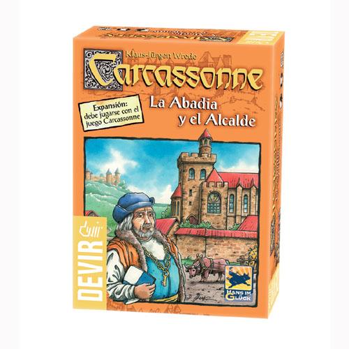 Carcassonne : La Abadia y el Alcalde