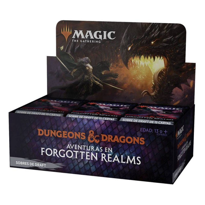 MTG Draft Display Aventuras en Forgotten Realms