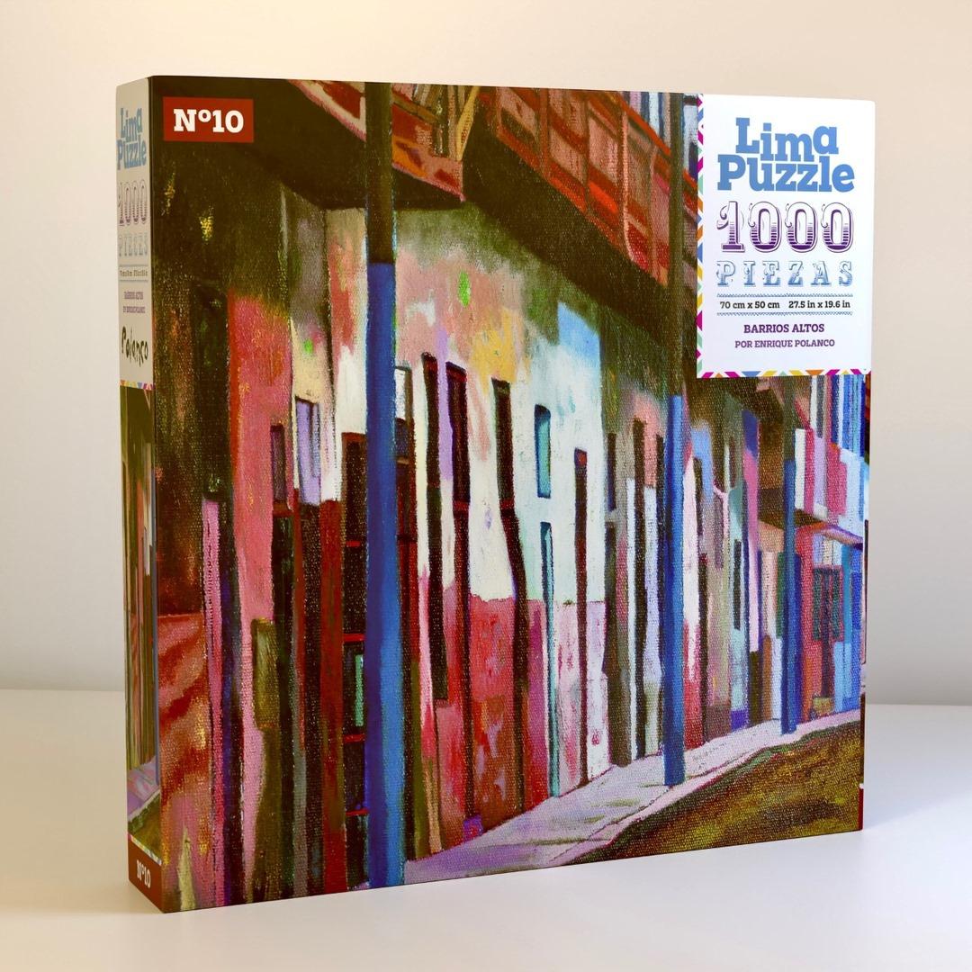 Lima Puzzle 1000 pzs, N10 Barrios Altos