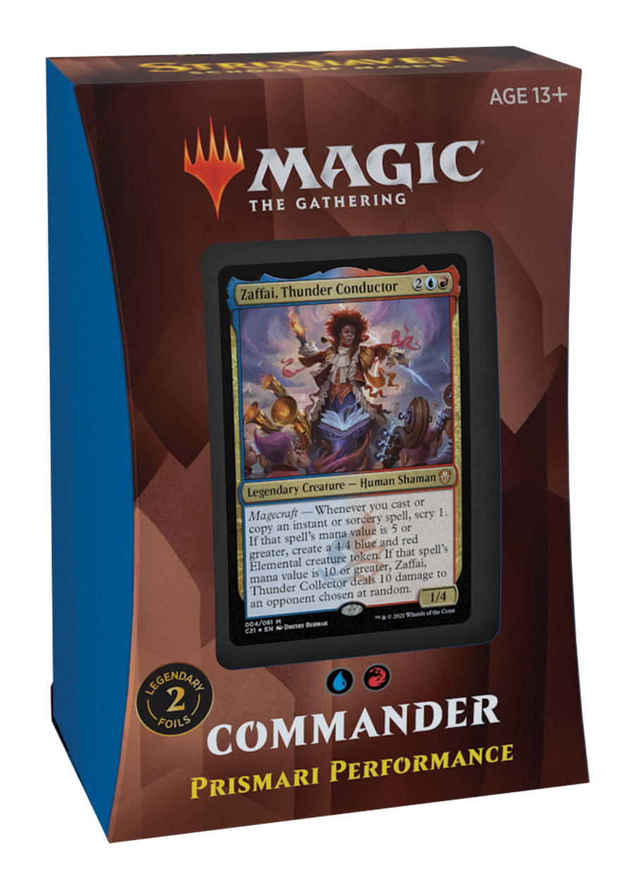 MTG Commander Strixhaven - Prismari Performance