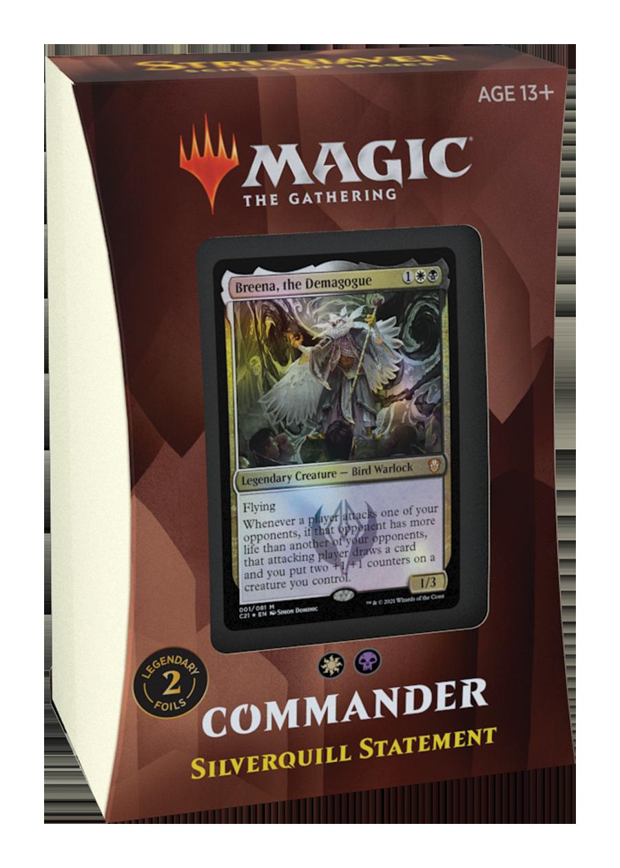 MTG Commander Strixhaven - Silverquill Statement