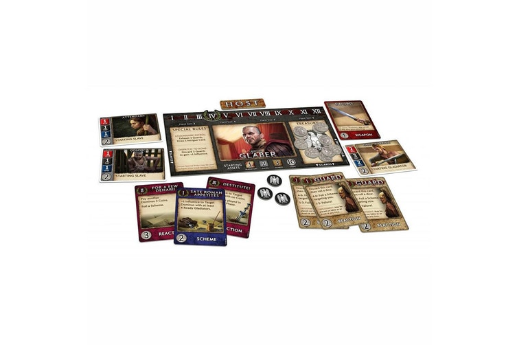 Spartacus : A game of blood and treachery
