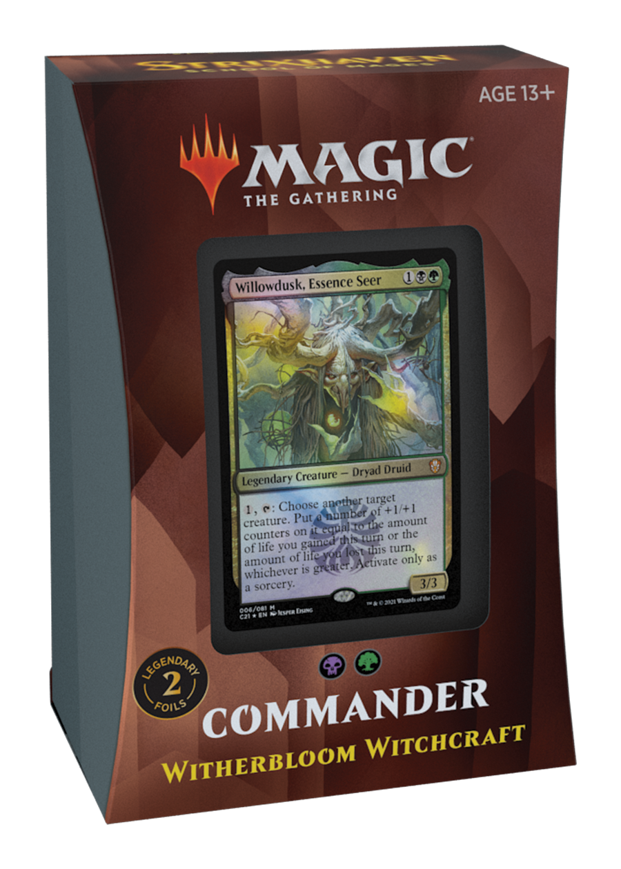 MTG Commander Strixhaven -  Witherbloom Witchcraft