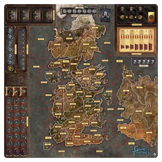 A Game of Thrones : Mother of dragons De Luxe Gamemat