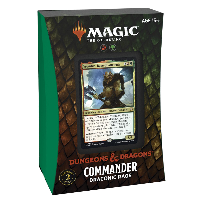 MTG Commander AFR -  Draconic Rage