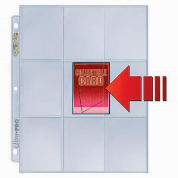 Hojas para folder 9 Pocket Sideloaders